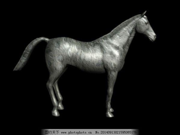 马模型免费下载 3d模型 马模型 马雕像模型 动物模型 3d模型 3d模型