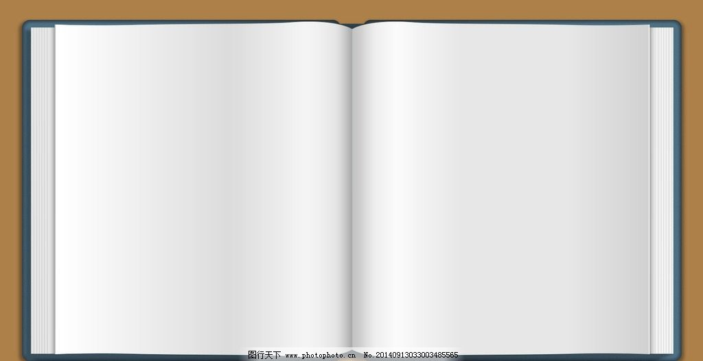 空白图书模板 空白 图书