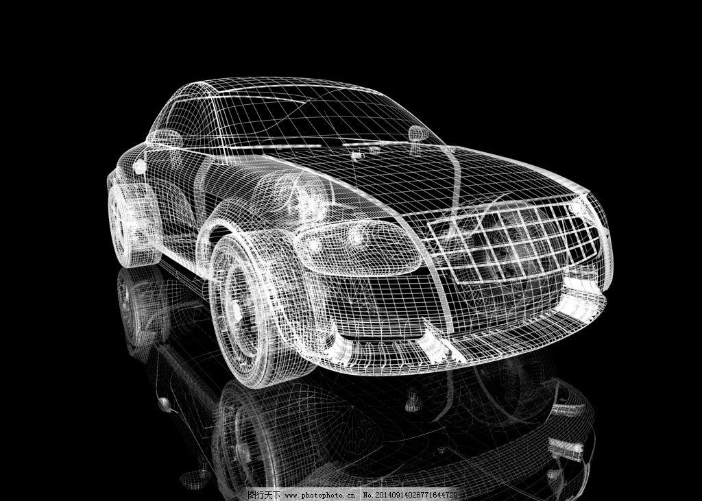 甲壳虫汽车三维透视图片