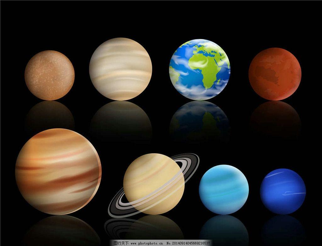 外星球-九大行星图片大全