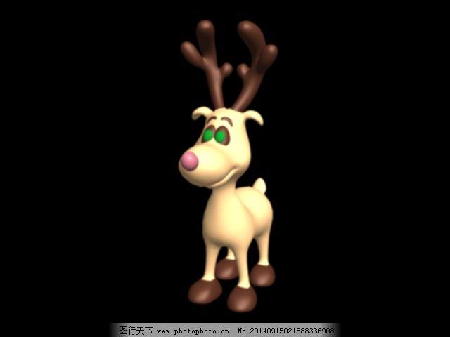 小动物模型素材免费下载 3d模型 小动物模型素材 3d模型 动物玩具 3d