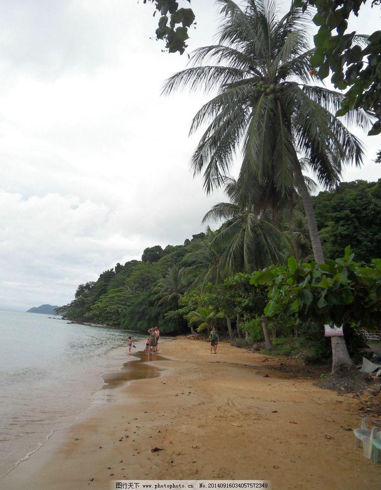泰国象岛 泰国 象岛 自然 沙滩 植物茂盛 国外旅游 旅游摄影  摄影