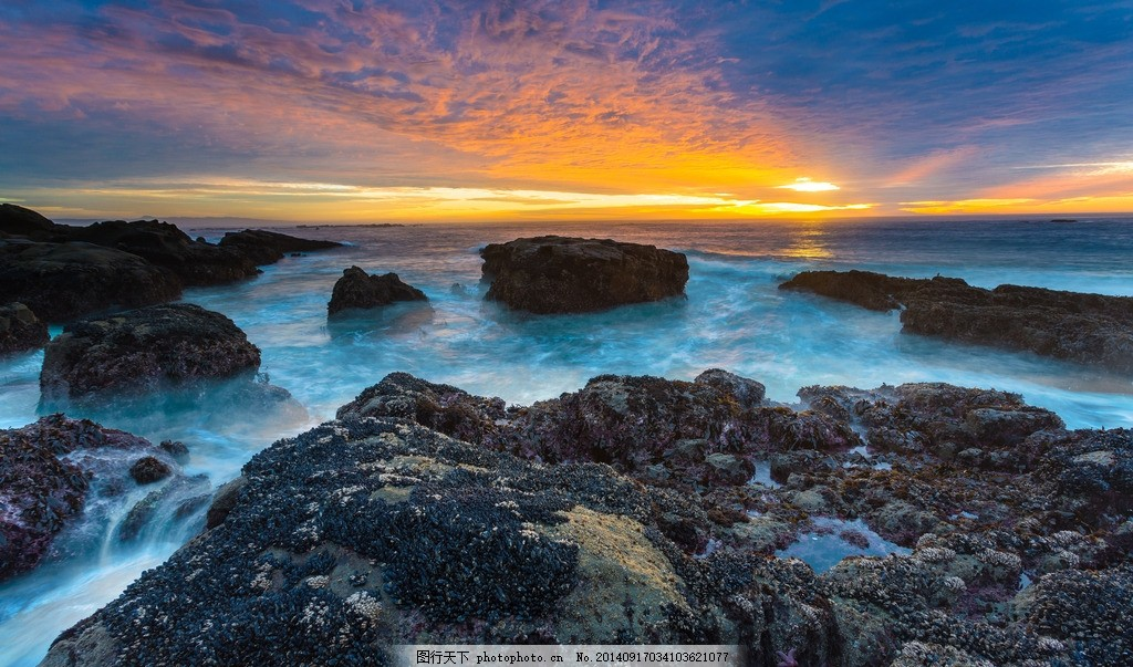 高清海岸焦石 自然风景图片 自然风景摄影 最美自然风景 高清自然风景