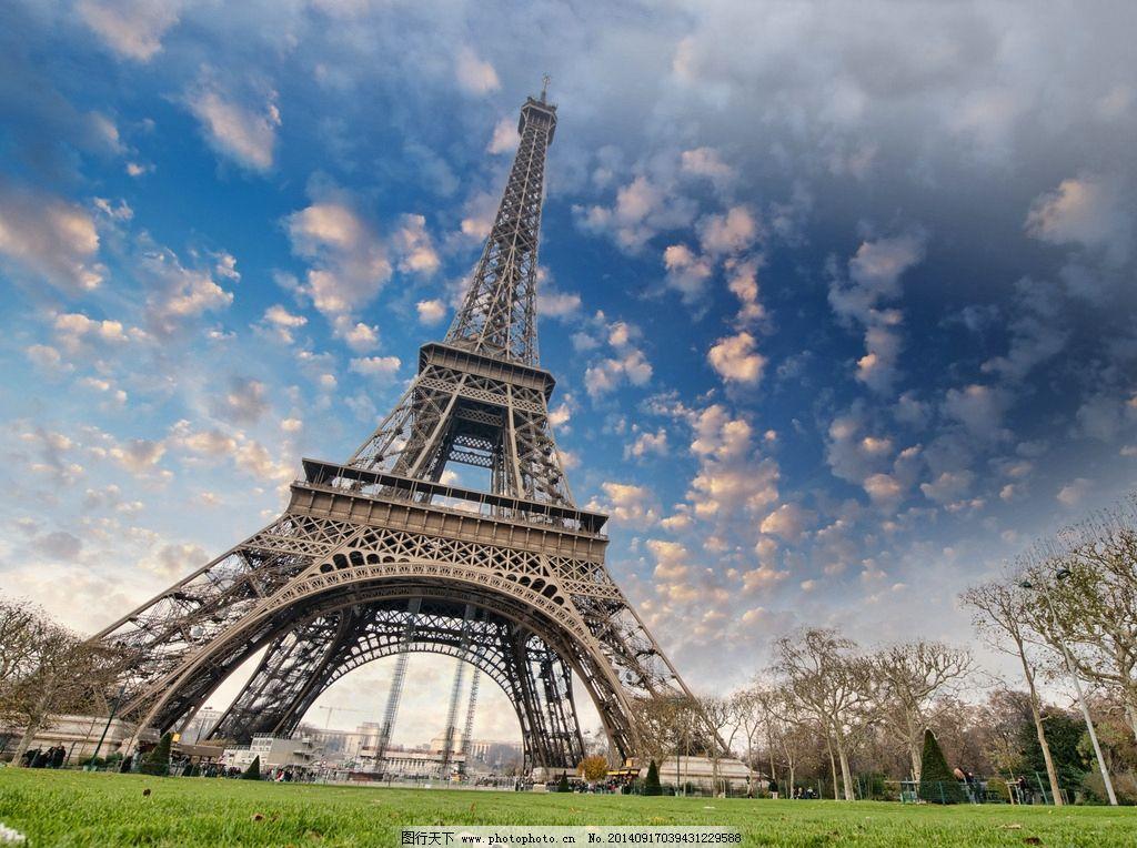 外国城市建筑 法国巴黎铁塔