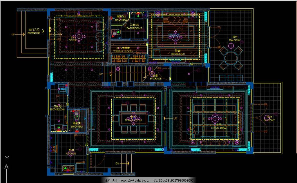 别墅        立面图 吊顶图 方案 设计 环境设计 室内设计 300dpi dwg