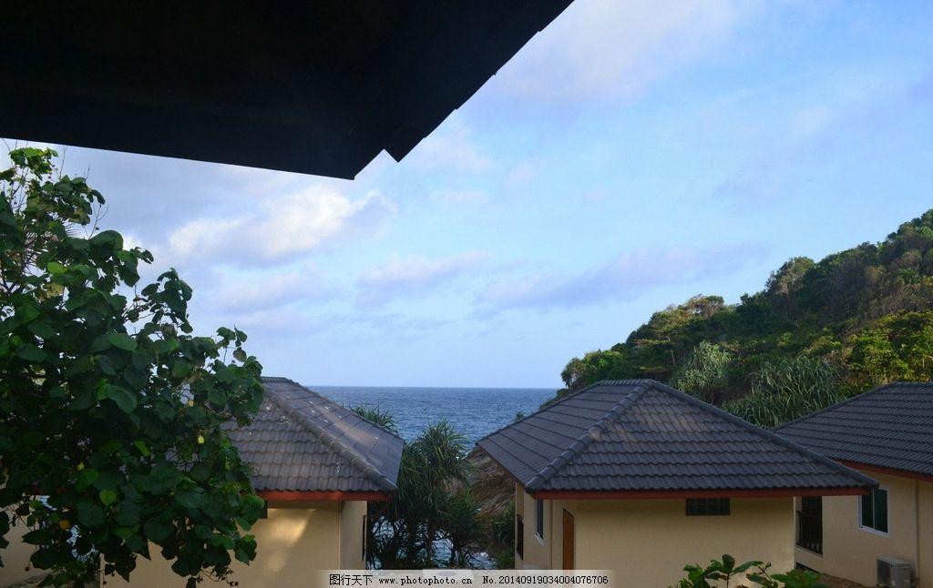 小木屋 旅游 度假村 旅馆 皇帝岛 普吉 温馨 海景房 海边 舒适