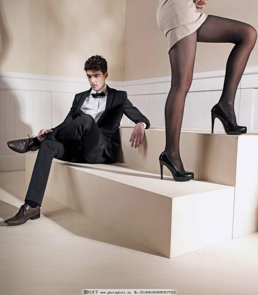 性感女人 女人 细腰 美腿 裙子 紧身裙 丝袜 黑丝 高跟鞋 美男 帅哥