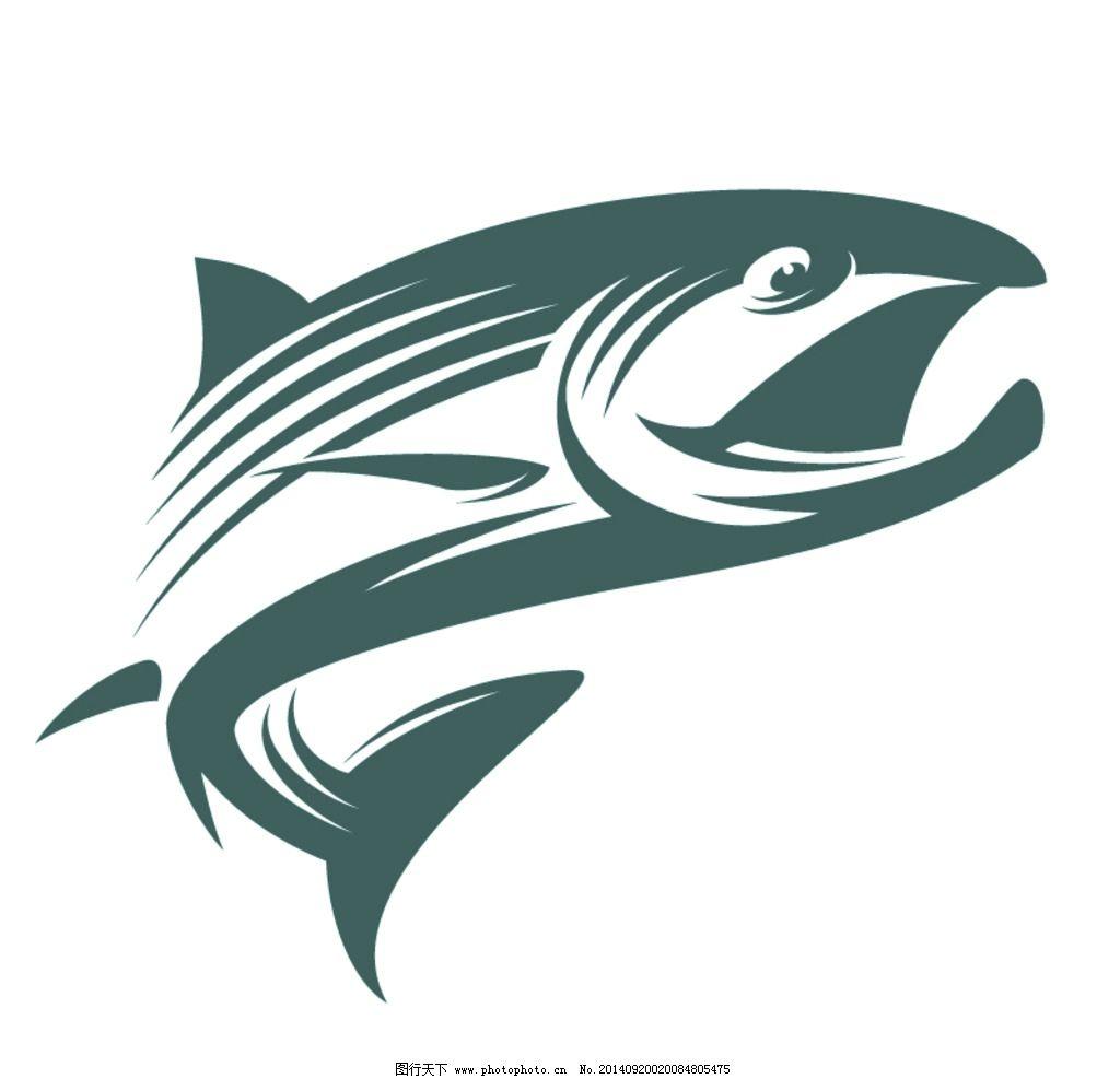设计图库 标志图标 网页小图标  鱼图标 动物 鱼 鱼图形 手绘 创意鱼