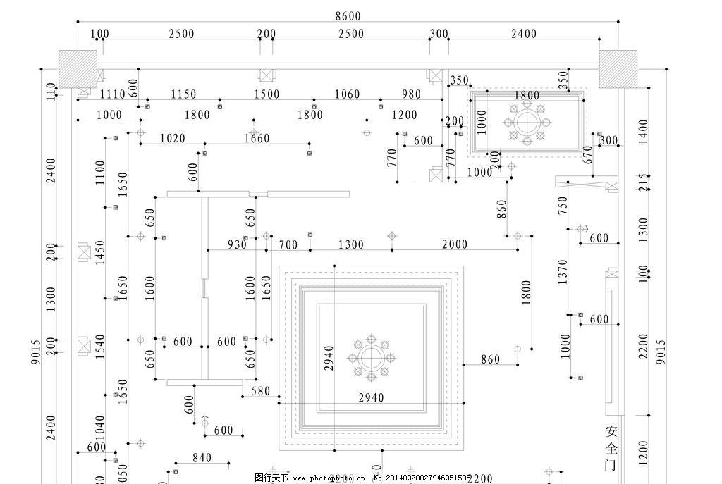 竣工 酒店      施工图 电路图 设计 环境设计 室内设计 300dpi dwg