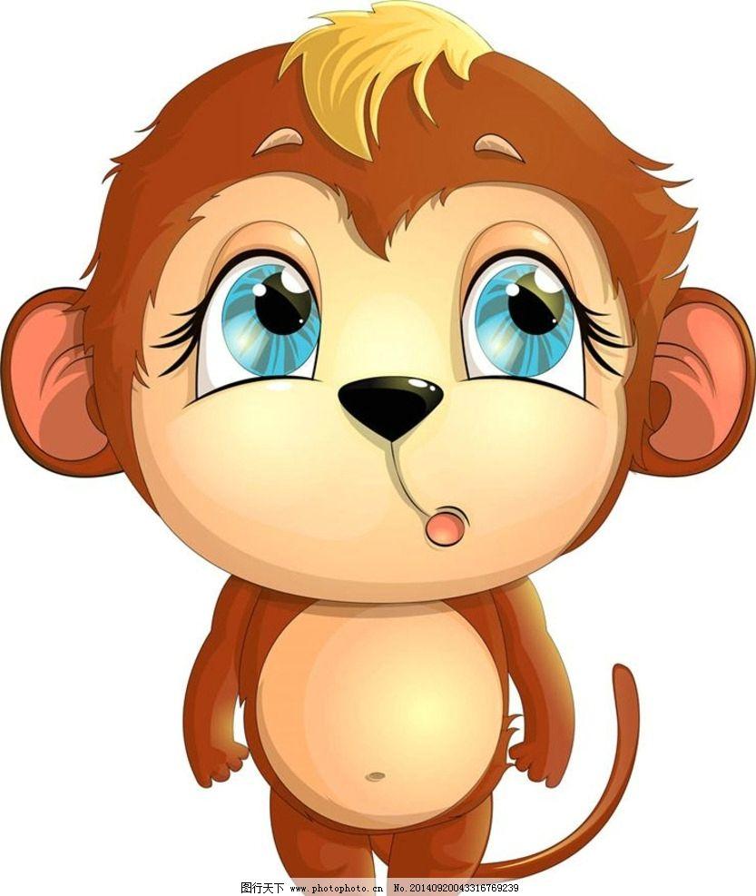 小猴 猴子 卡通 卡通动画 卡通动物 卡通设计 动漫 漫画 广告设计
