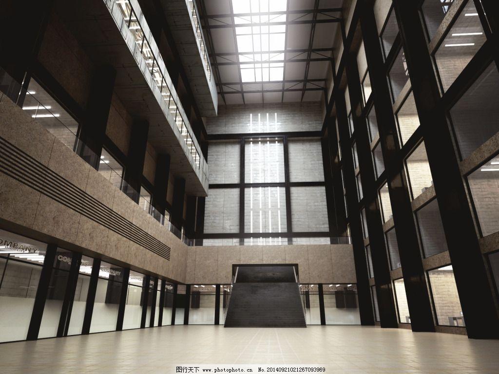 钢结构 建筑 模型 建筑