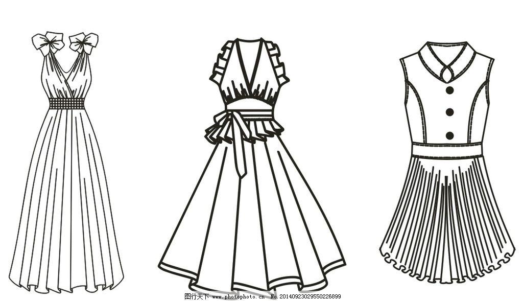 女生裙子连衣裙礼服图片