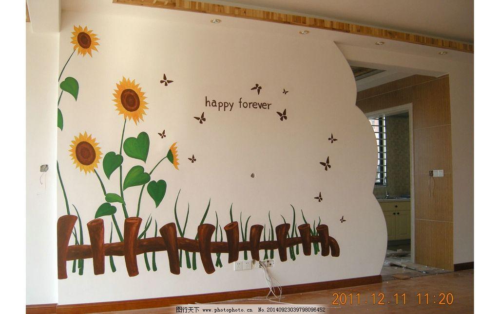 背景墙 手绘墙