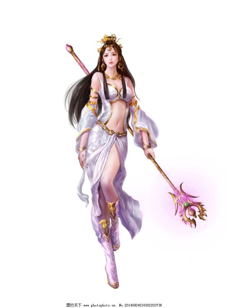 游戏原画 游戏人物 游戏人设 游戏角色 美女 中国风 古典 法师 仙侠