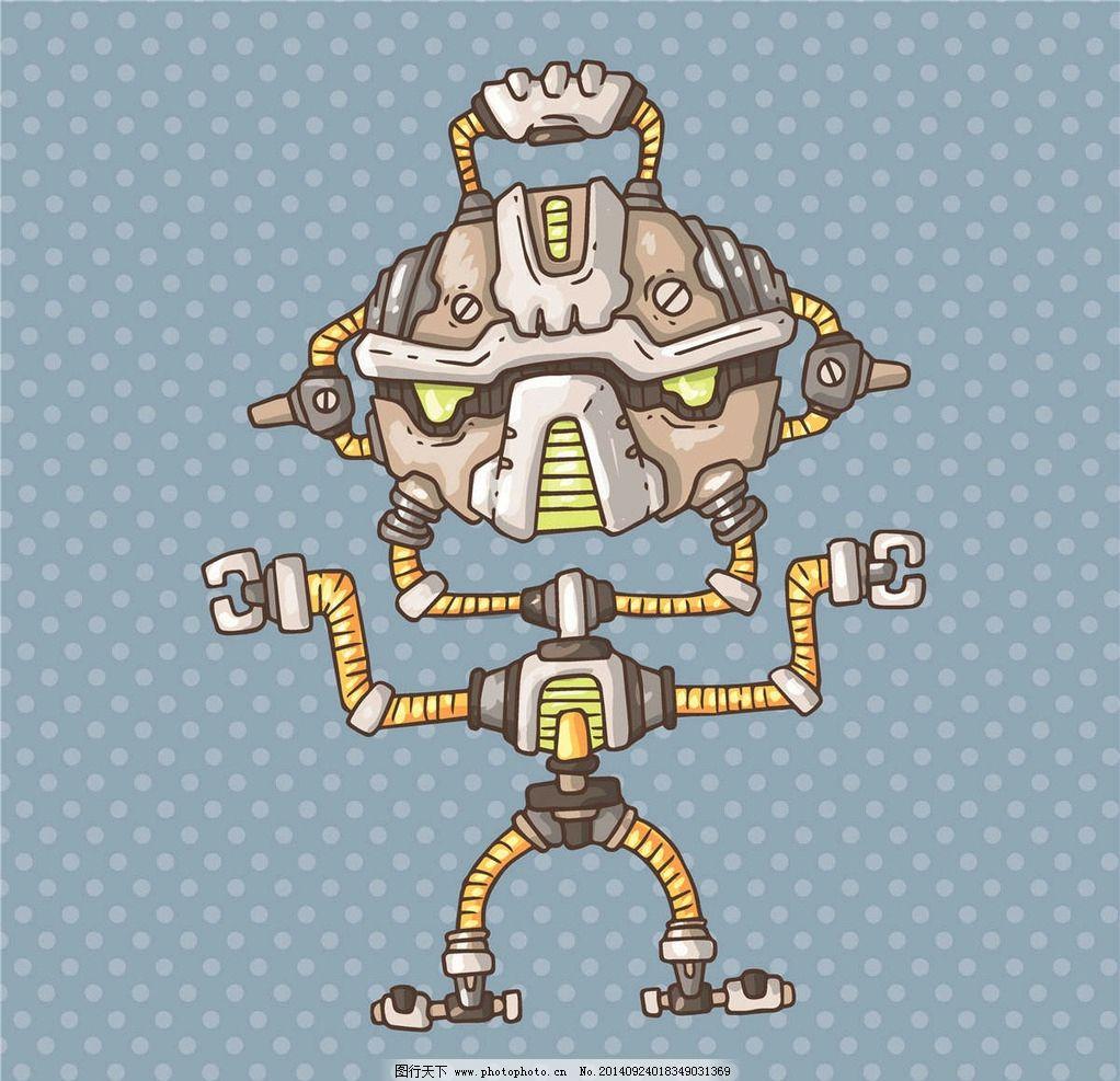 机器人图片_动漫人物_动漫卡通_图行天下图库