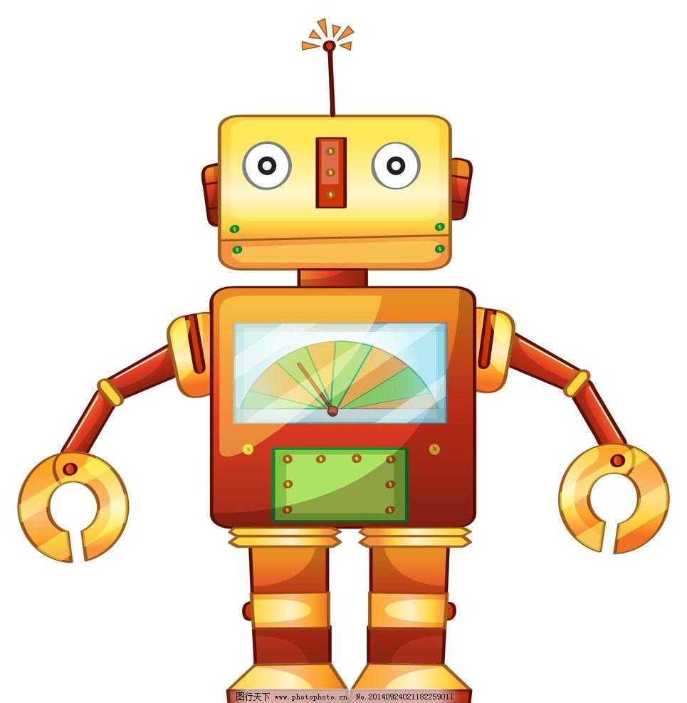 机器人大头像