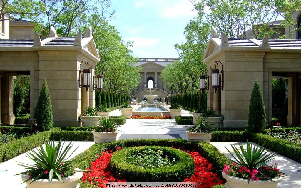 欧式别墅庭院设计实景分享展示