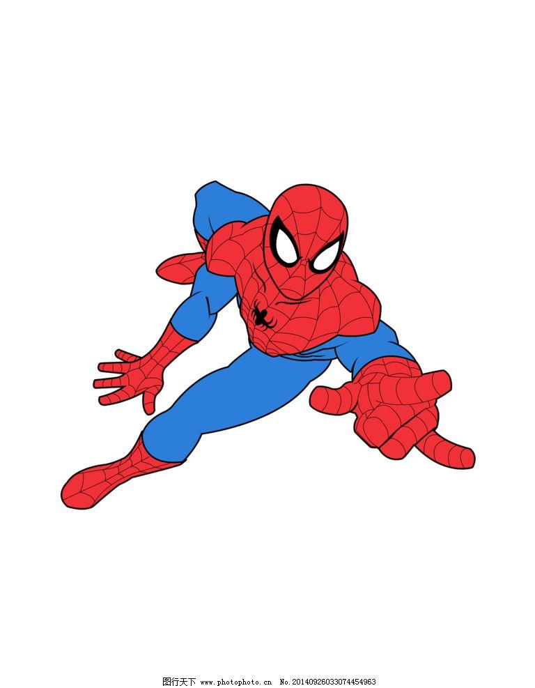 3d版蜘蛛侠简笔画步骤