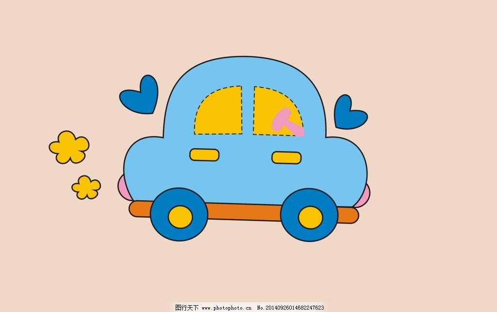 卡通动物造型小汽车设计