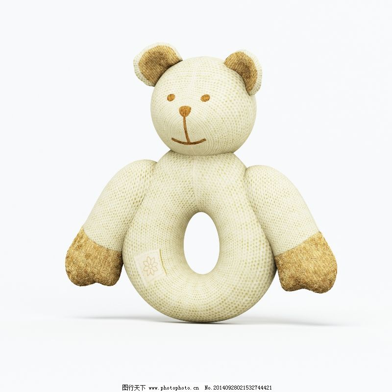 模型 玩具 小熊 模型 玩具
