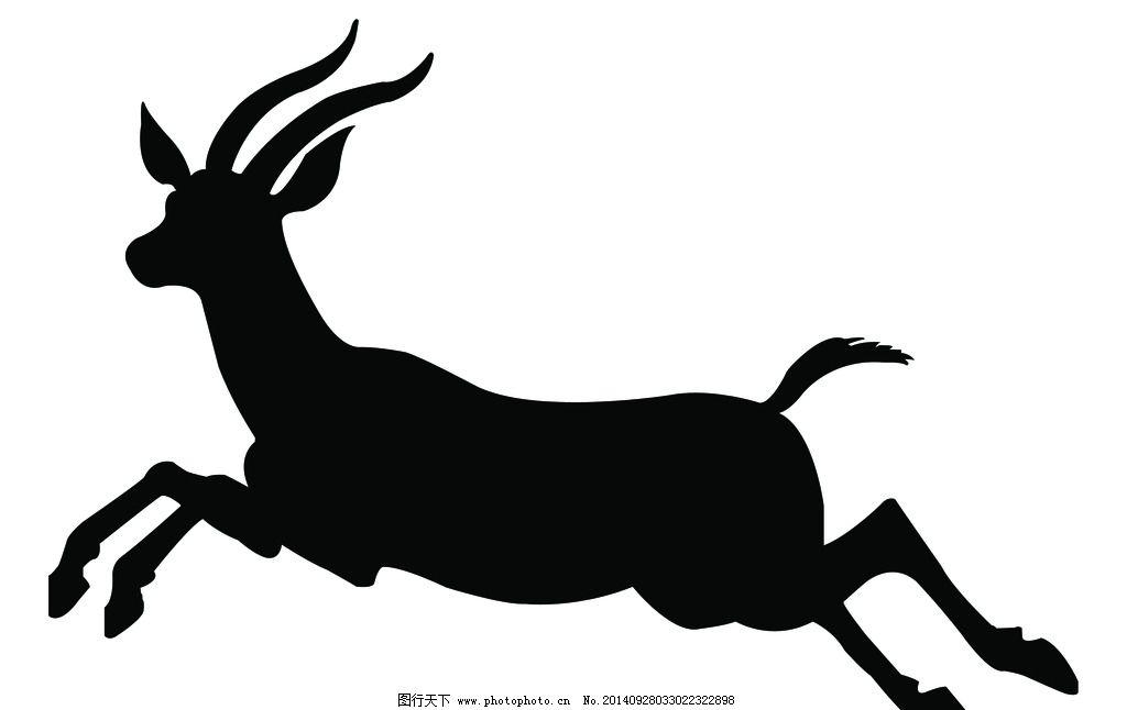 奔跑的羚羊图片,藏羚羊 野生羚羊 动物 动物园 珍惜