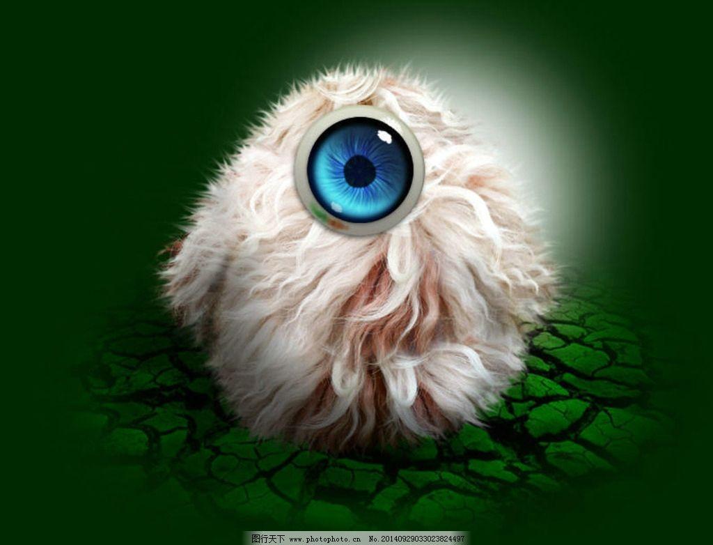 psd素材 动物 动画 眼睛 dm单 画册 设计 psd分层素材 其他 72dpi psd