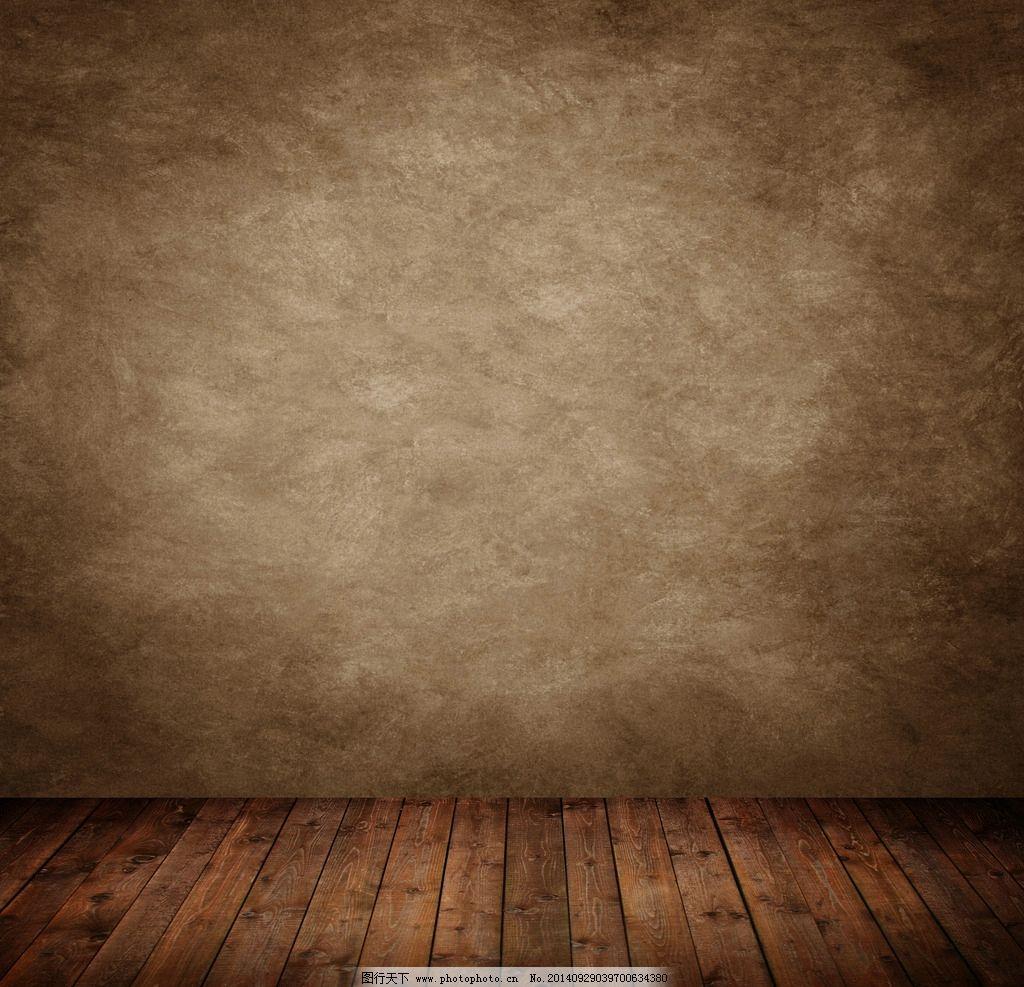 水泥墙 摄影背景墙 木地板 墙壁 建筑材料 摄影 建筑园林 其他 300dpi