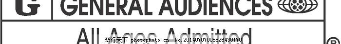 LOGO大全,logo设计欣赏,商业矢量,矢量下载,Motion_Picture_Association_of_America_-_G_Rating,Motion_Picture_Association_of_America_-_G_Rating经典电影标志下载标志设计欣赏,网页矢量
