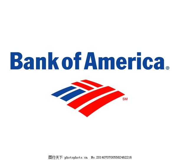 LOGO大全,logo设计欣赏,商业矢量,矢量下载,Bank_of_America(1),Bank_of_America(1)国际银行LOGO下载标志设计欣赏,网页矢量