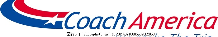 LOGO大全,logo设计欣赏,商业矢量,矢量下载,Coach_America,Coach_America公路运输标志下载标志设计欣赏,网页矢量