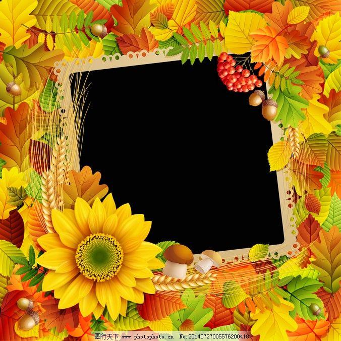 植物黄色背景素材免费下载,矢量图,其他矢量图
